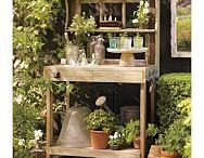 potting benches and birdhouses / by Gayle Jones