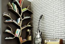 wall mounted book cases