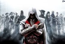Assasins of all kind:Ezio Auditore / The most famous video game Assasins!