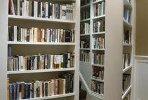 Book Shelves and Reading Nooks / by Peggy Cawelti