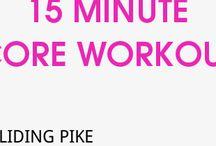 Workouts / Core workout