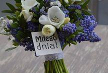 Kompozycje kwiatowe / Ciekawe i oryginalne pomysły na dekoracje z żywych kwiatów.