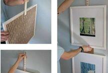hanging items