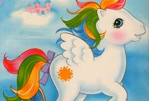 My little pony / I was crazy about these ponys, now my daughter is