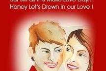 Make Love Day Card