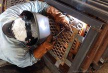 Steel Workers De México. / Empresa mexicana dedicada a la fabricación de estructuras metálicas, herrería, tanques de acero inoxidable,calderas etc etc.