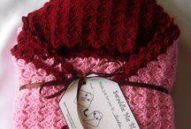 crochet swaddle blanket