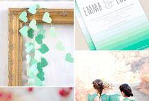 Свадебные цветовые паллеты