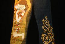 paint jeans