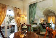 Bellevue Suite / La Bellevue Suite è situata all'ultimo piano dell'Hotel Petit Palais di Milano, 50 mq con terrazzo privato. Camino, luminosa zona giorno, ampio bagno in pregiato marmo italiano con vasca Jacuzzi. E' la camera più affascinante e romantica del Petit Palais.
