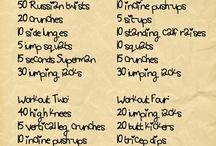 Workouts / by Janette Brummett