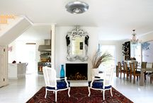 Modern And Oriental / Modern rooms with traditional rugs