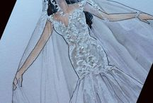 desenhos de noivas