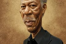 Cool Caricatures Art Collections / Funny Cartoons of Famous People & Celebrities Worth Viewing / by Rev. Dr. Dawne A. Casselle, Esq.
