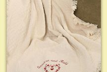 Wedding Monograms / by Li'l Inspirations - Personalized Wedding Handkerchiefs, Blankets and One of Kind Baptism Gifts Custom Embroidered
