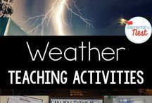 Weather teaching activities