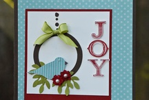 Stampin Up Christmas / Christmas craft using Stampin Up products.