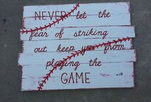 Take Me Out to the Ballgame... / by Talia Hammer