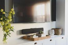 TV Cabinet Built In