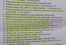Hold your tongue scriptures