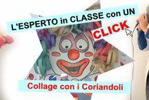 LIM: Carnevale / Raccolta di attività sul Carnevale da svolgere a scuola! / by L.I.M. Laboratorio Interattivo Manuale