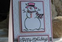 Stampin' Up! - Christmas Cards
