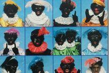 folders Sinterklaas / kleine collectie uit mijn verzameling en gepinde Sinterklaas folders / catologus