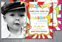 Hamish's birthday / Circus theme
