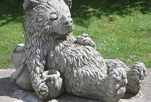 Teddy Bear Statues