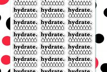 Stickers Hydrate