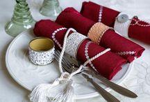 Vánoce/Christmas / Vánoční inspirace, ať už potřebujete slavnostně prostřít stůl, upéct cukroví nebo nápaditě zabalit dárky.
