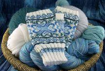 Fair Isle  knitting / Strikke design fra Færøyene