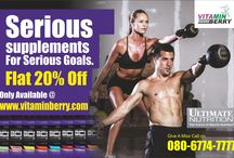 Biggest Offer / Buy any Ultimate Nutrition Products & get 20% Off