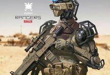 sci-fi weapon / by war2552 war2552