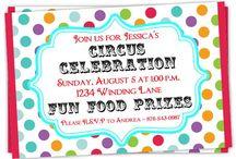 Custom Birthday Invitations / Custom birthday invites from DelightDesignBiz.etsy.com