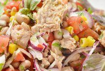 Receitas culinária - saladas frias