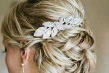 Bruid/party kapsels. / Prachtig haar op de mooiste dag van je leven? Of ga je naar een gaaf feest? Hier alvast wat inspiratie.