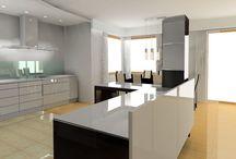 Wizualizacje Arango / Wizualizacje i zdjęcia projektów oraz wykonanych kuchni.