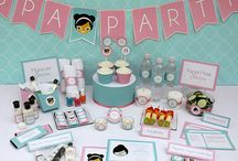 Spa Party Birthday Collection