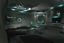 Scifi interiors