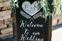 Esküvői táblák