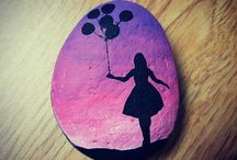Creatief op steen