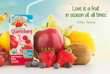 Kid Friendly Snacks/Apple & Eve Organic Quenchers / Snacks for the kids