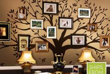 Family Tree Wall Decal / We've got customizable family tree decals for every room in your home.