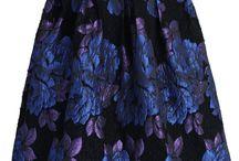 Středně dlouhé sukně