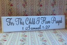 Signs for Baby Nurseries (Nursery) & Children's Rooms
