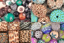 Samunnat Beads Jewelry / Samunnat beads from Nepal used in a variety of different designs.