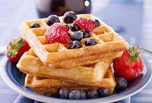 Waffle recipes / Healthy recipes with waffle iron