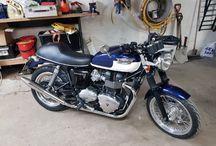 My 2010 Triumph Bonneville 865 / How I customized my bike