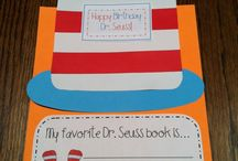 Dr Seuss  / by Leslie Hanna
